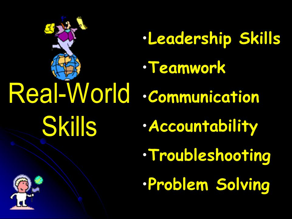 Leadership Skills Teamwork Communication Accountability Troubleshooting Problem Solving