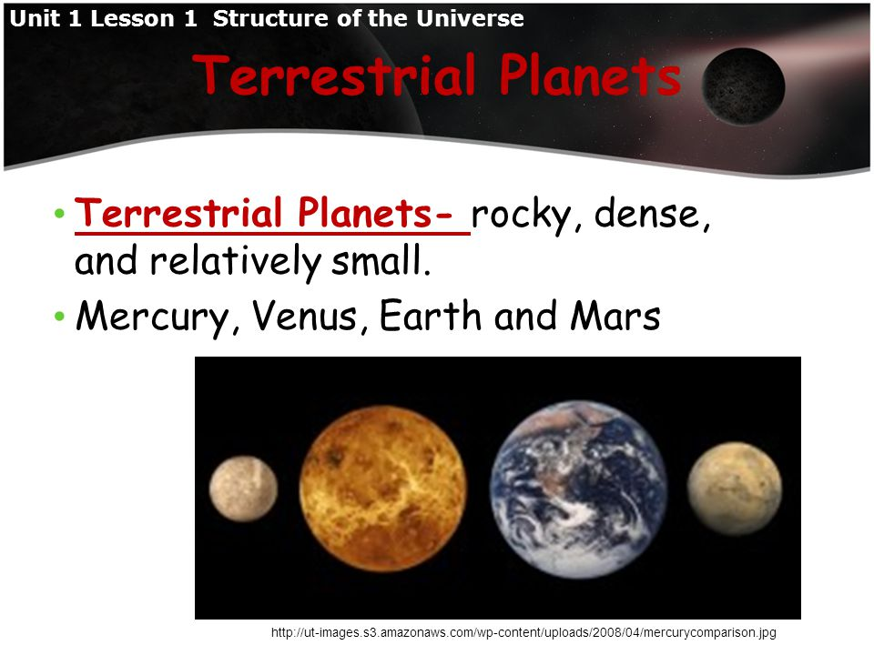 Gas giant planets - have thick, gaseous atmospheres; small, rocky cores; and ring systems of ice, rock, and dust.