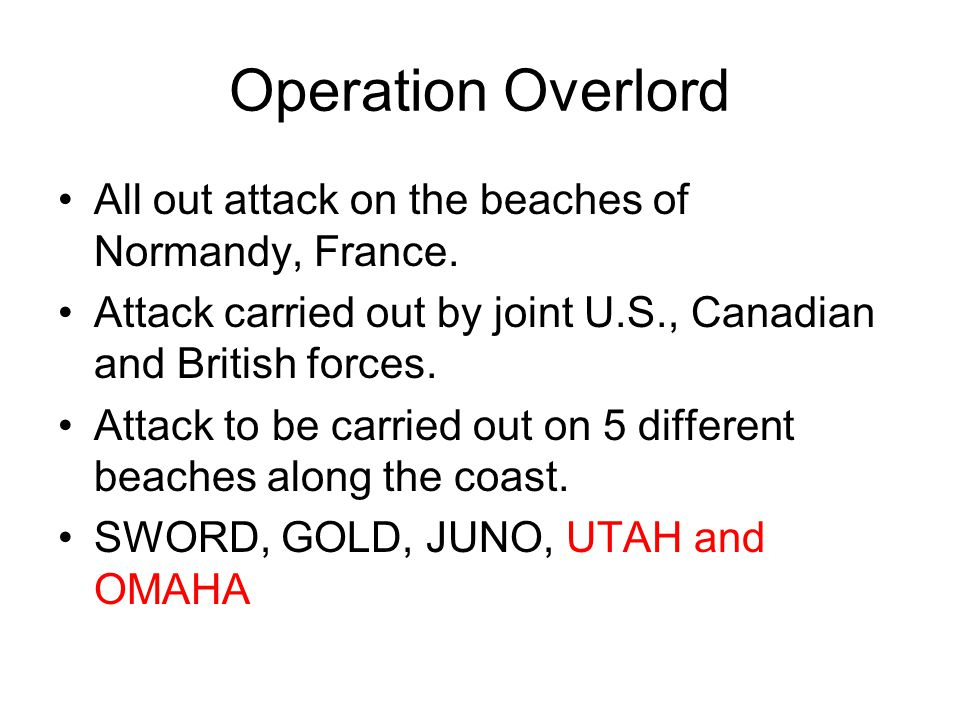 All out attack on the beaches of Normandy, France.