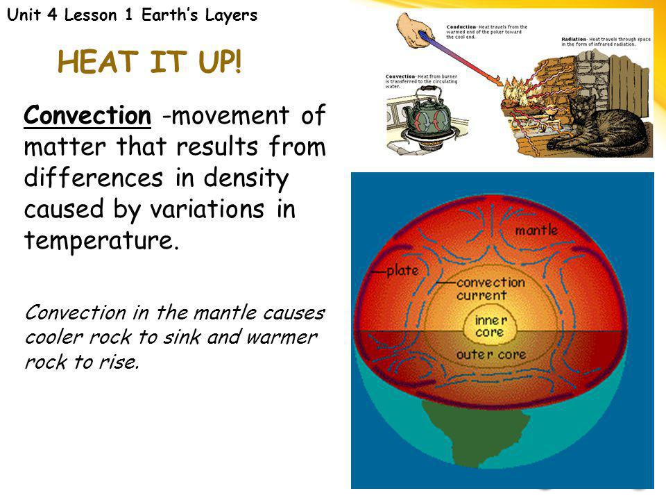 PEELING THE LAYERS Crust-outermost solid layer of Earth. (composed of O, Si & Al) 1.Continental 2.Oceanic-denser; contains 2x Fe, Ca & Mg Mantle-regio