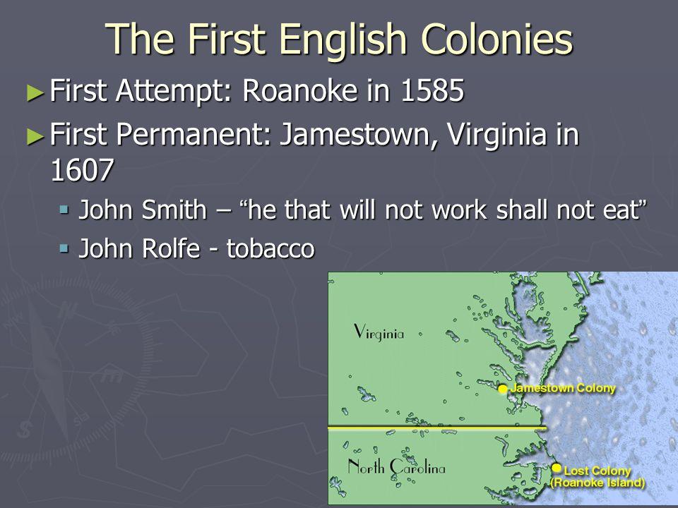 Southern Colonies ► Maryland (1634) ► Virginia (1607) ► Carolinas (1663)  North Carolina (1729)  South Carolina (1729) ► Georgia (1732)