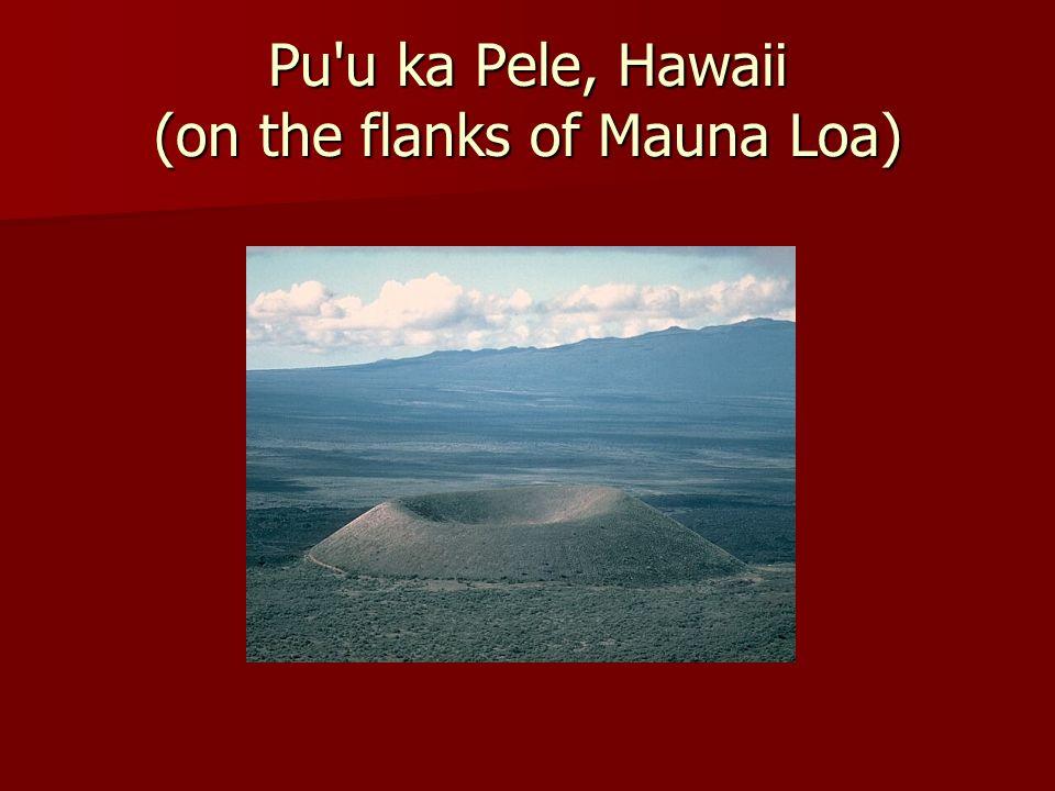 Pu u ka Pele, Hawaii (on the flanks of Mauna Loa)