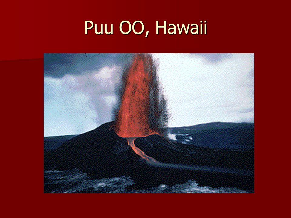 Puu OO, Hawaii