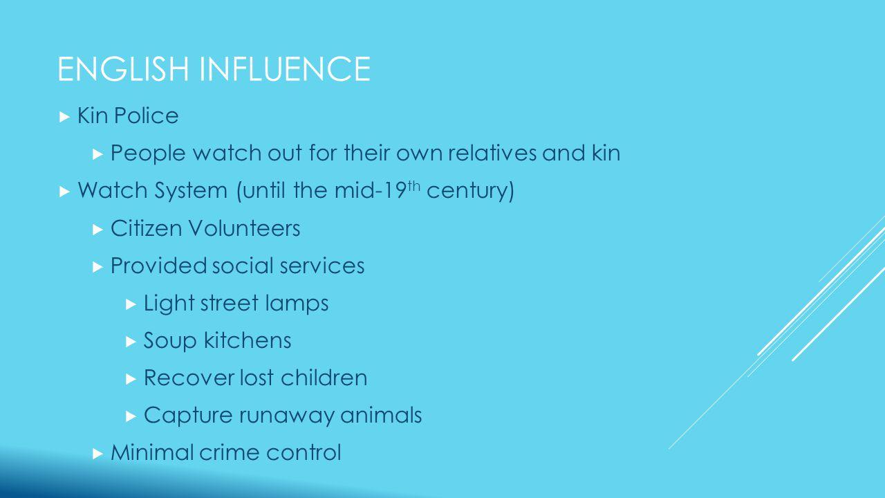 SIR ROBERT PEEL  Believed London Metropolitan Police Department should be viewed as legitimate  Identified several principles that he believed would establish credibility with the public