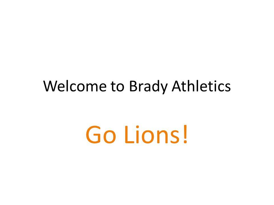 Welcome to Brady Athletics Go Lions!