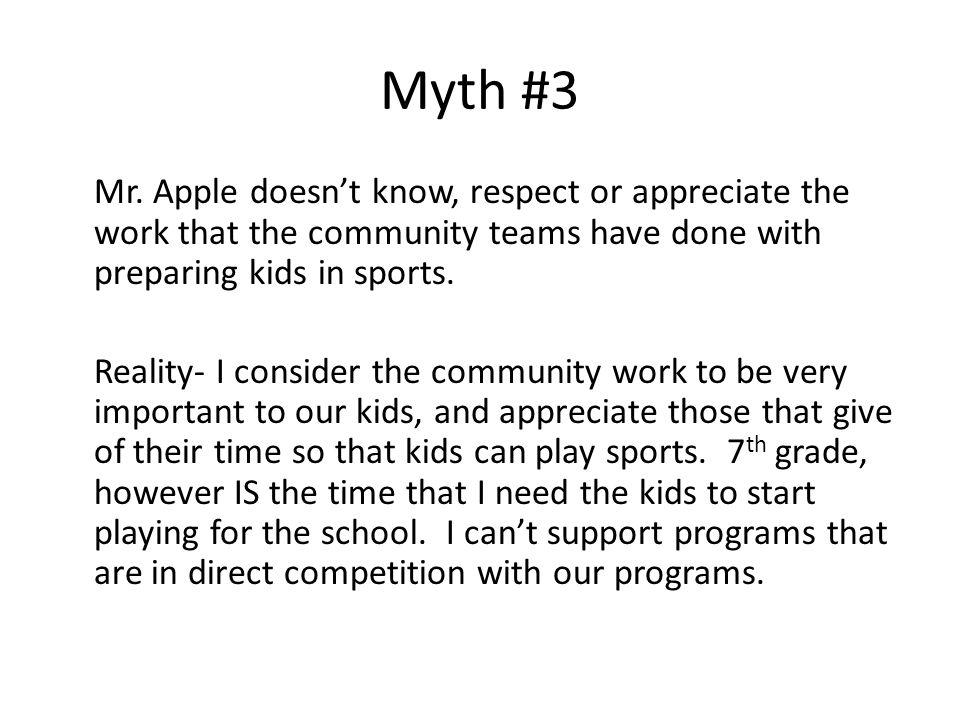 Myth #3 Mr.