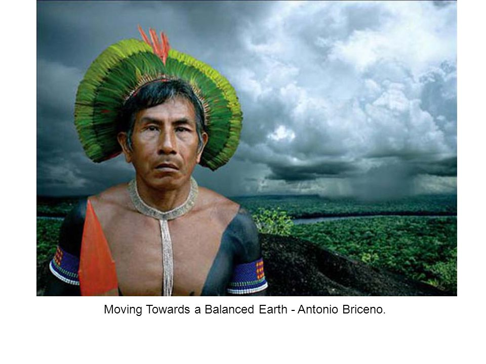 Moving Towards a Balanced Earth - Antonio Briceno.