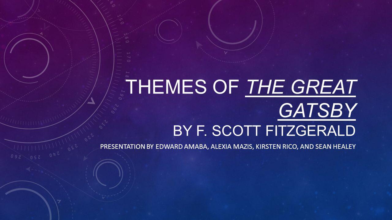 F.SCOTT FITZGERALD: HIS LIFE F. Scott Fitzgerald was born in Minnesota in 1896.