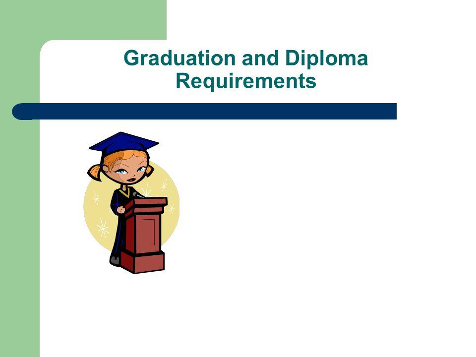 Graduation and Diploma Requirements