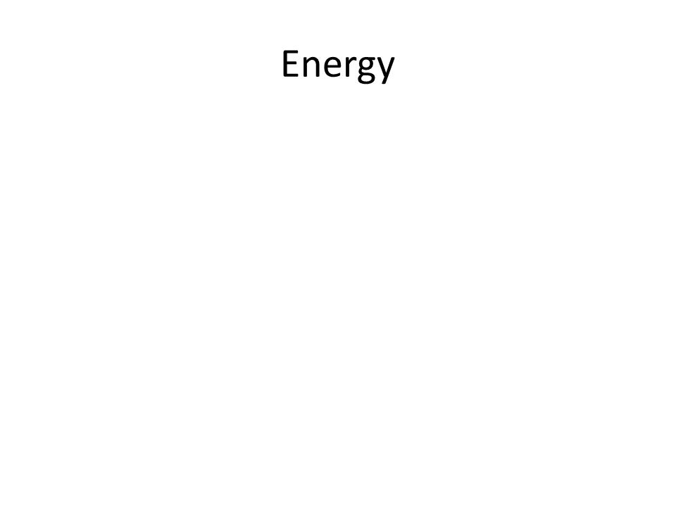 A Few Types of Energy 1.Mechanical 2. Chemical 3.