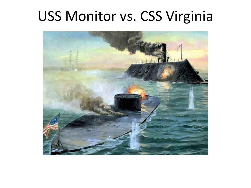 USS Monitor vs. CSS Virginia