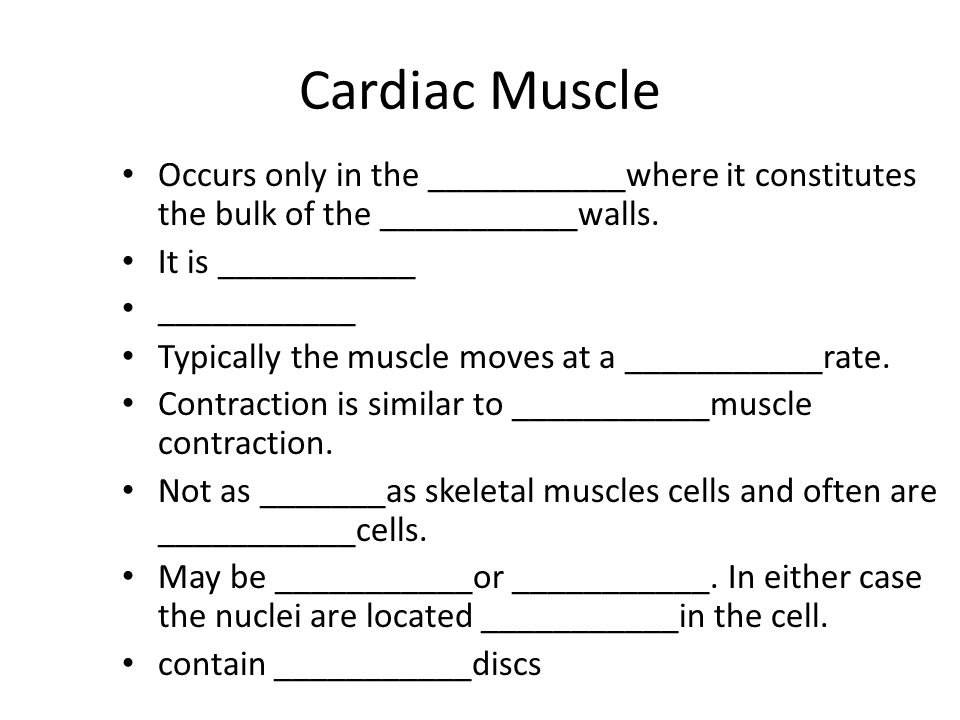 Cardiac Muscle Occurs only in the ___________where it constitutes the bulk of the ___________walls.