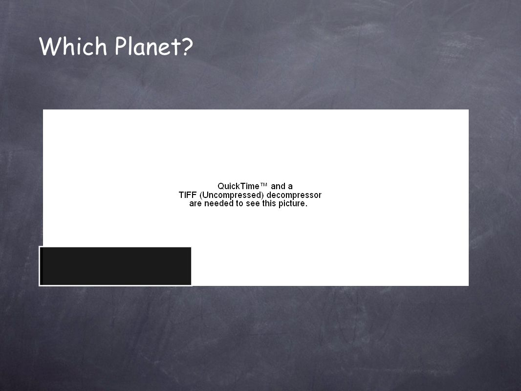 Which Planet