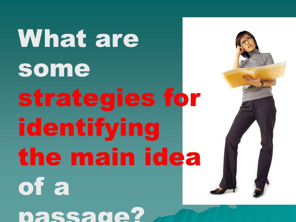 Main Idea Formula Topic Topic + What author says about topic + Author's purpose = Main Idea