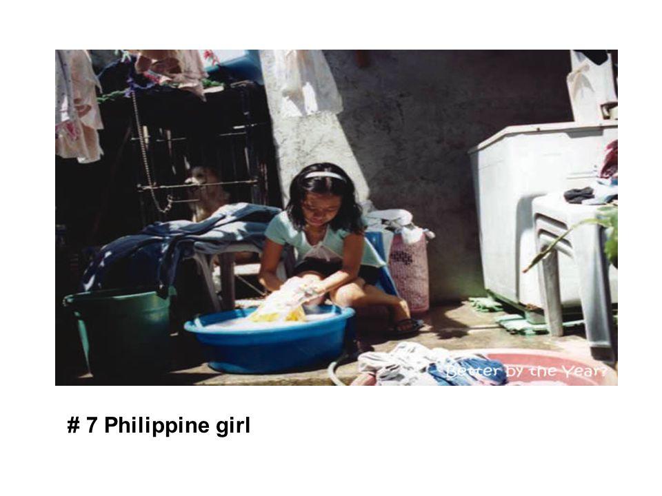 # 7 Philippine girl