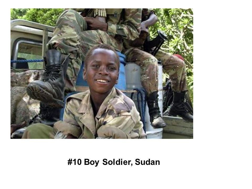 #10 Boy Soldier, Sudan