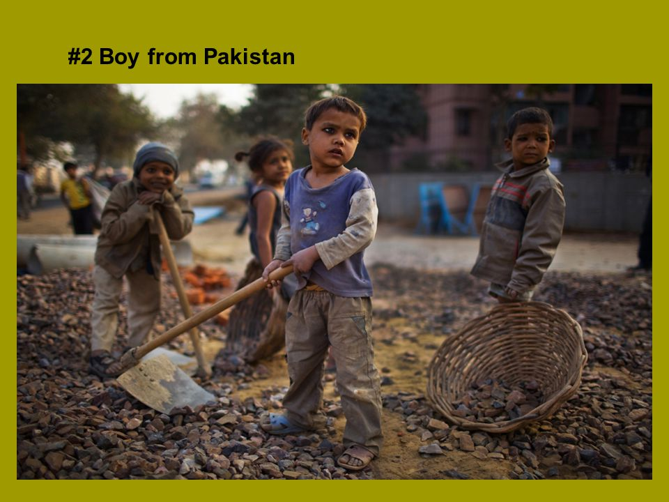 #2 Boy from Pakistan