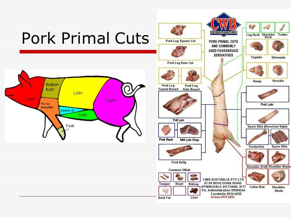 Pork Primal Cuts