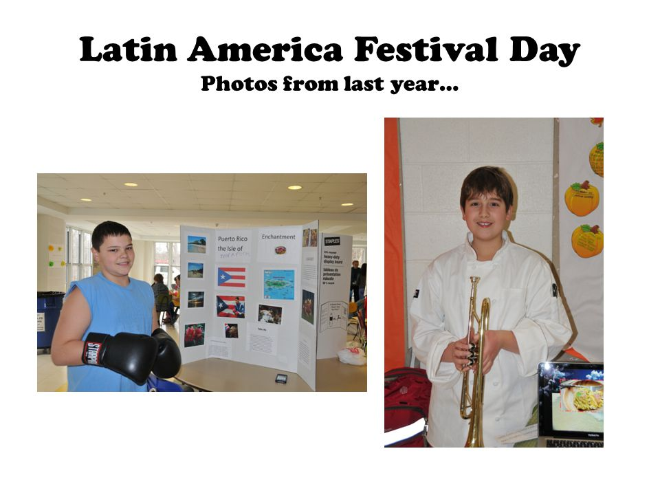 Latin America Festival Day Photos from last year…