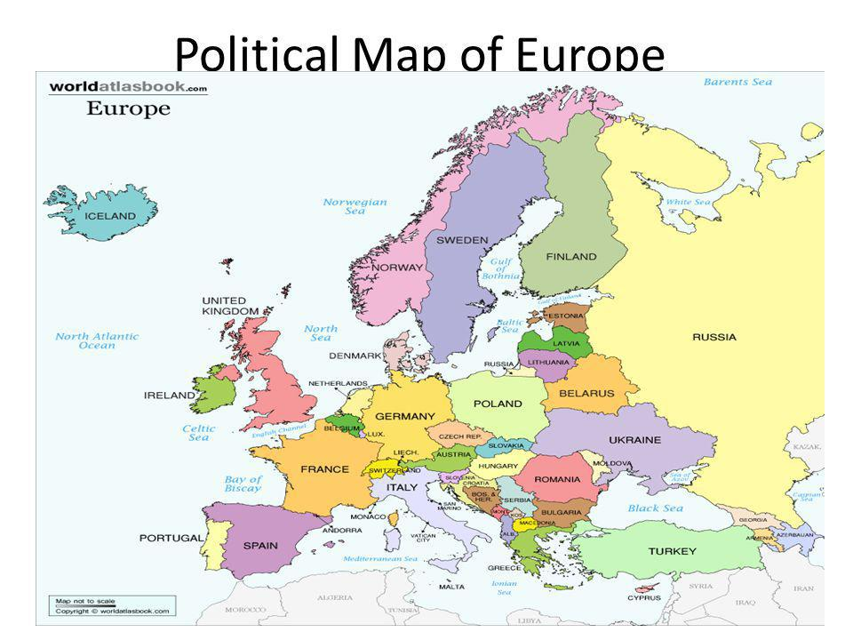 Political Map of Europe