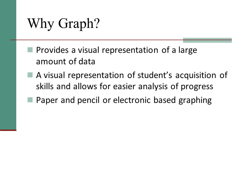 Why Graph.