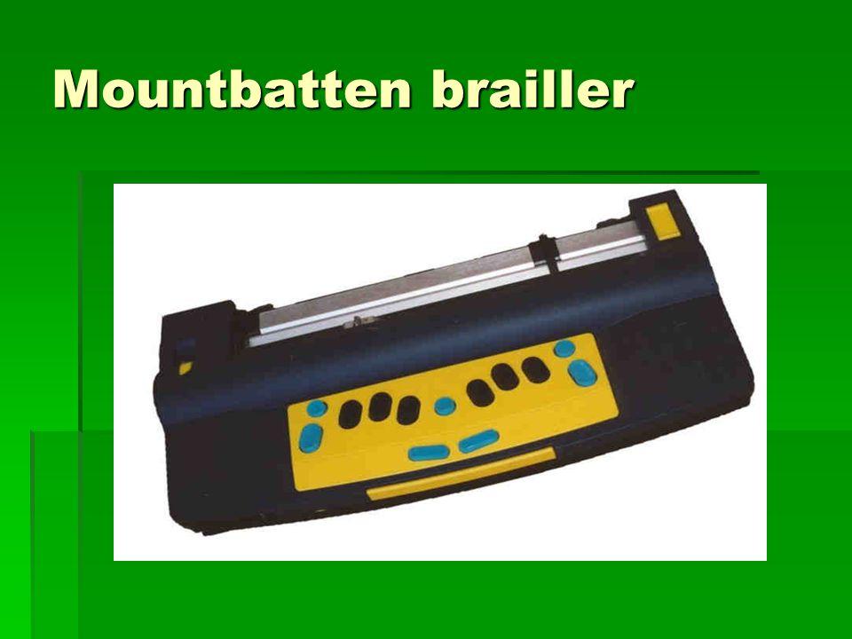 Mountbatten brailler