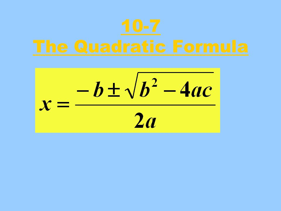 What Does The Formula Do .