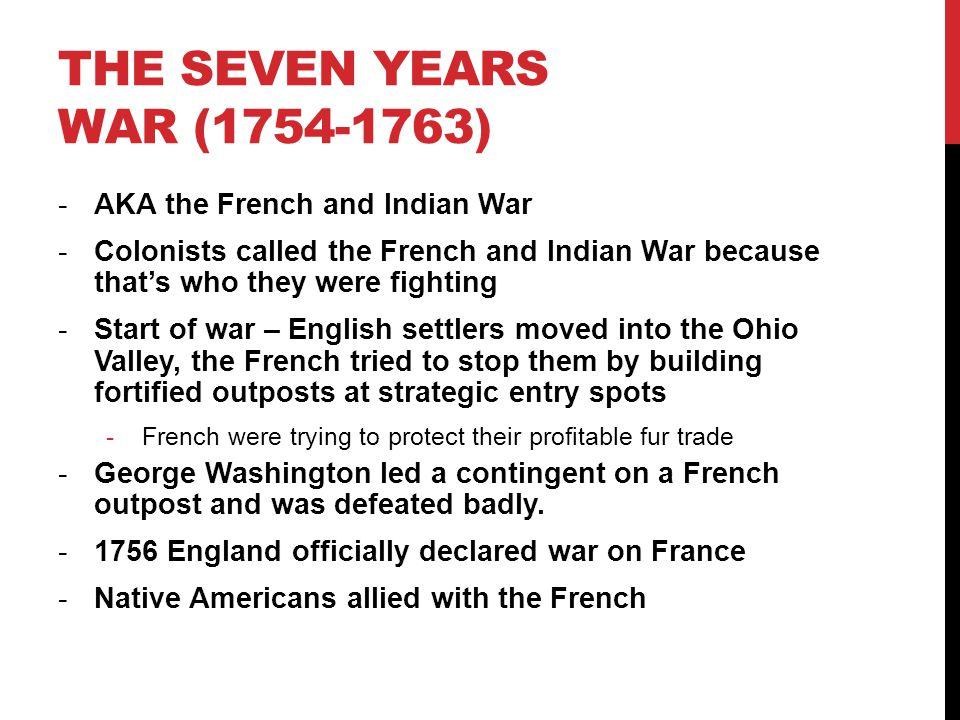 Seven years war essay