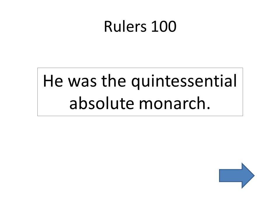 Wars 100 War of Spanish Succession