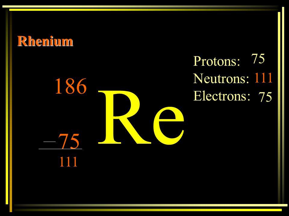 Na Sodium 23 11 Protons: 11 Neutrons: Electrons: 11 12