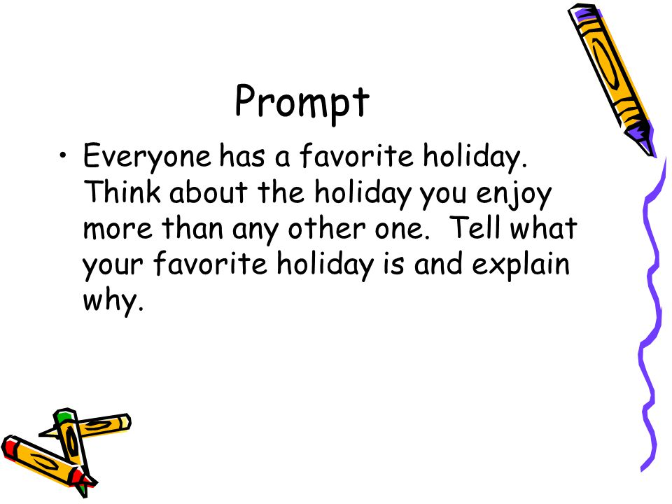 What is the prompt.Ten tiny fingers, ten tiny toes, rosy red cheeks, and a cute little nose.
