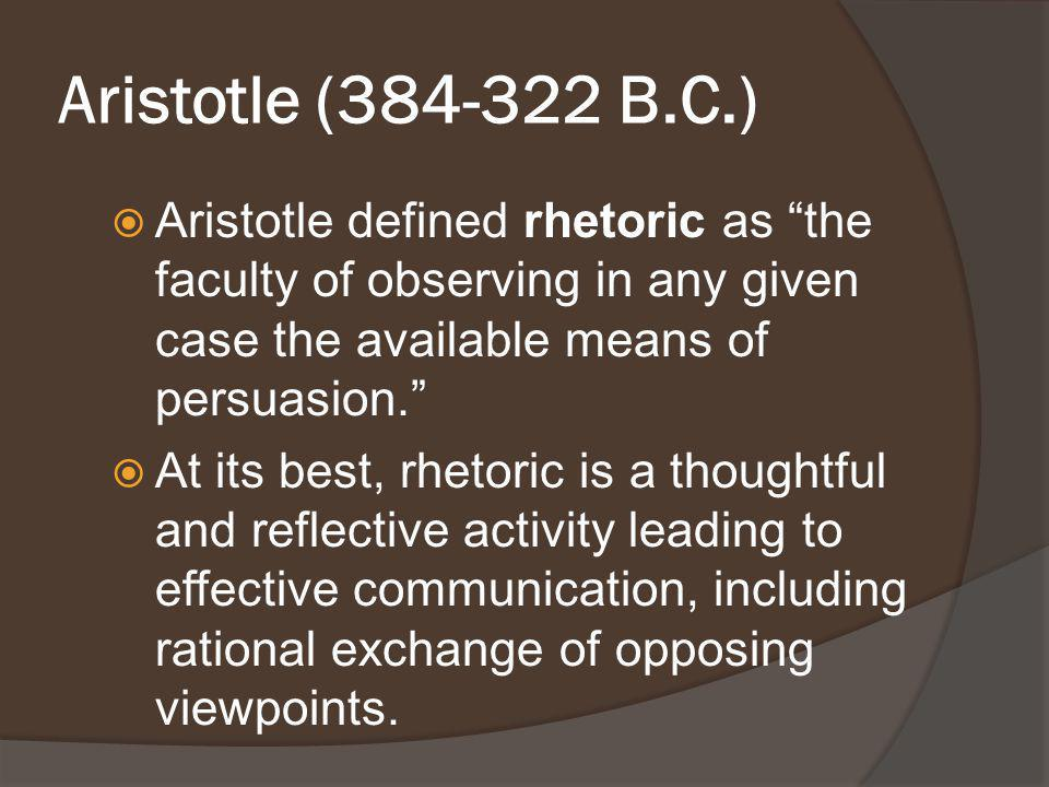 Various Meanings of Rhetoric :  The meaning of the word rhetoric seems to differ depending on how the word is used and who s using it.