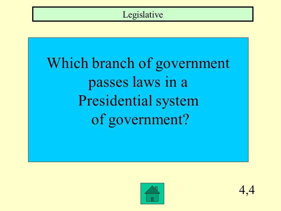 4,3 Which SW Asian country would be a good example of a federal system of government Israel