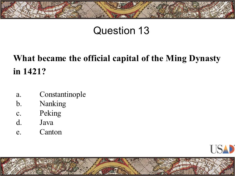 What became the official capital of the Ming Dynasty in 1421.