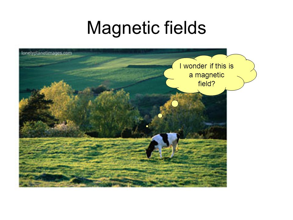 Magnetic fields I wonder if this is a magnetic field?