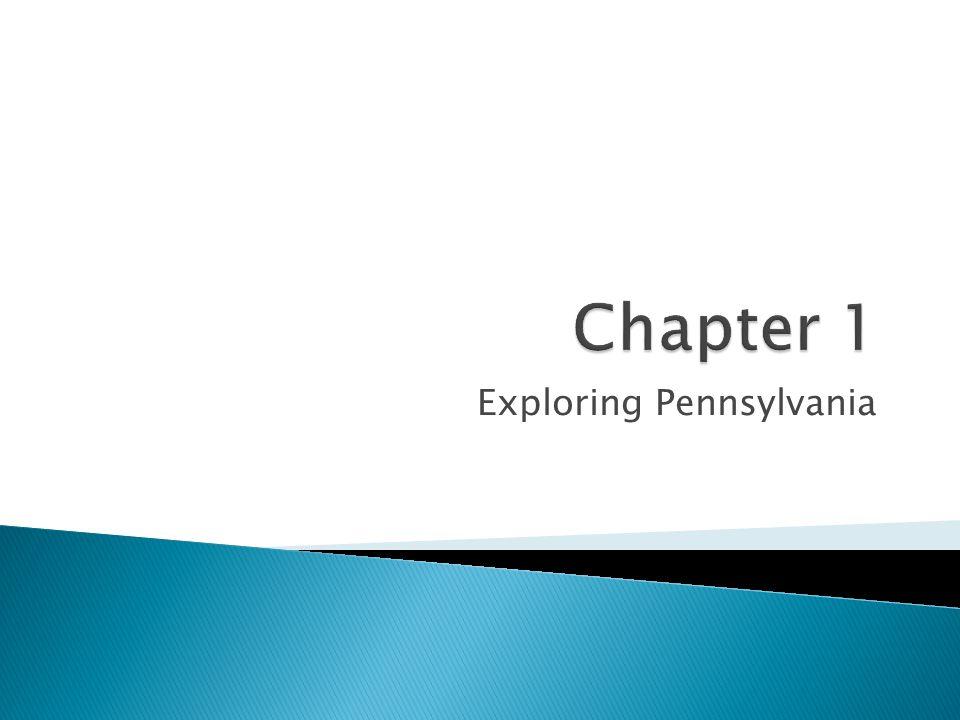 Exploring Pennsylvania