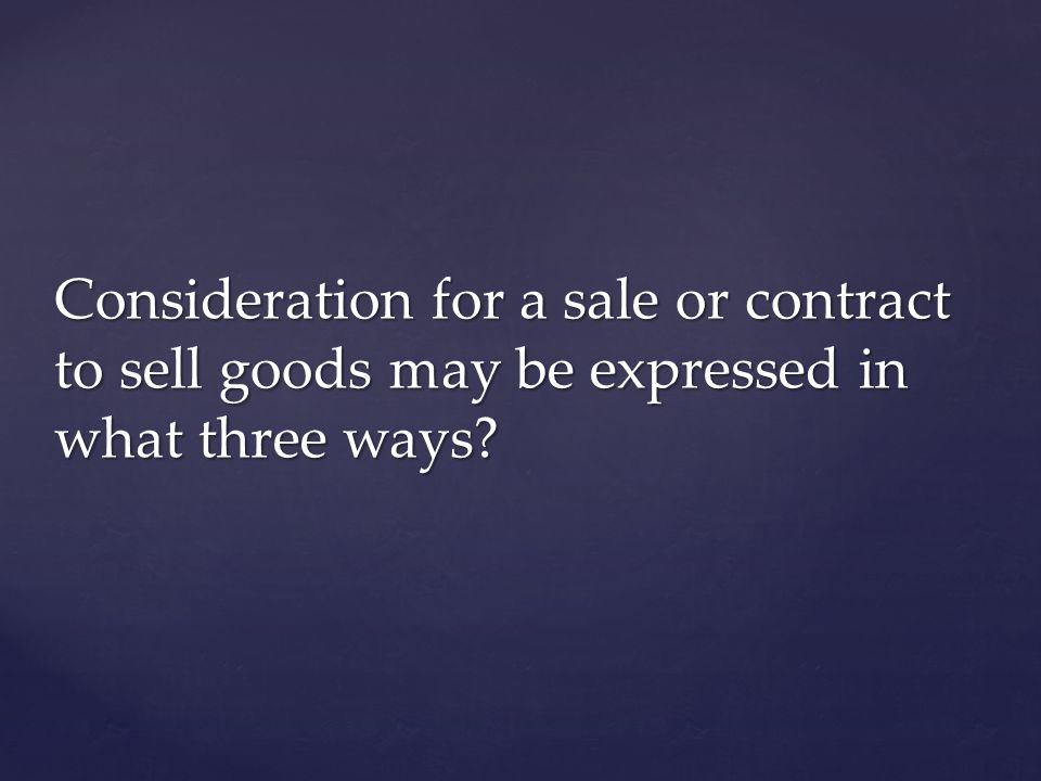 According to the UCC, what four things are not included as goods in Ch 15?