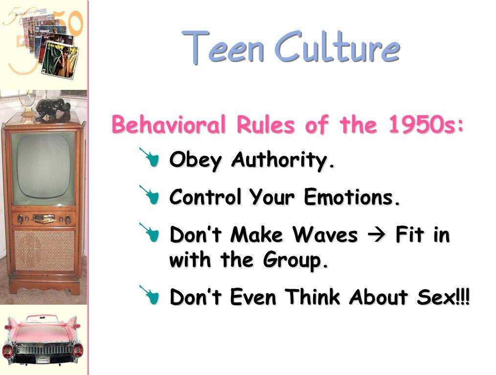 "Teen Culture The ""Beat"" Generation : f Jack Kerouac  On The Road f Allen Ginsberg  poem, ""Howl"" f Neal Cassady f William S. Burroughs ""Beatnik"" ""Cle"