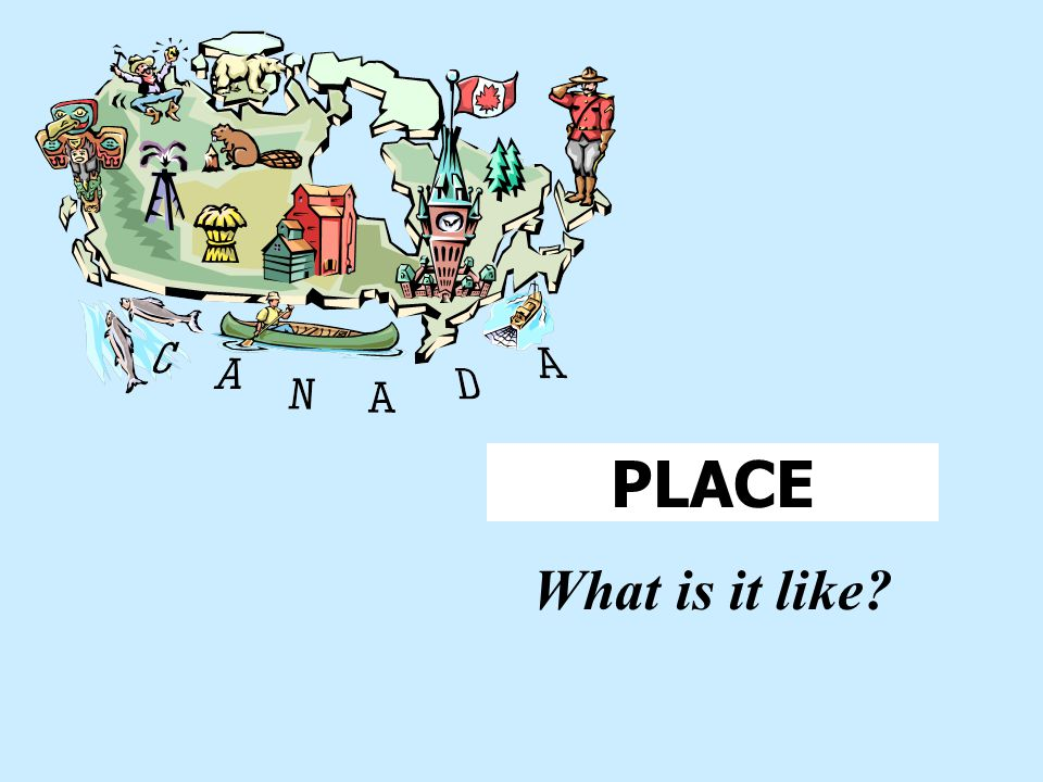 More examples of relative location Canada is just a short drive from Detroit. Vancouver, Canada is southeast of Alaska. Canada is northeast of Hawaii.