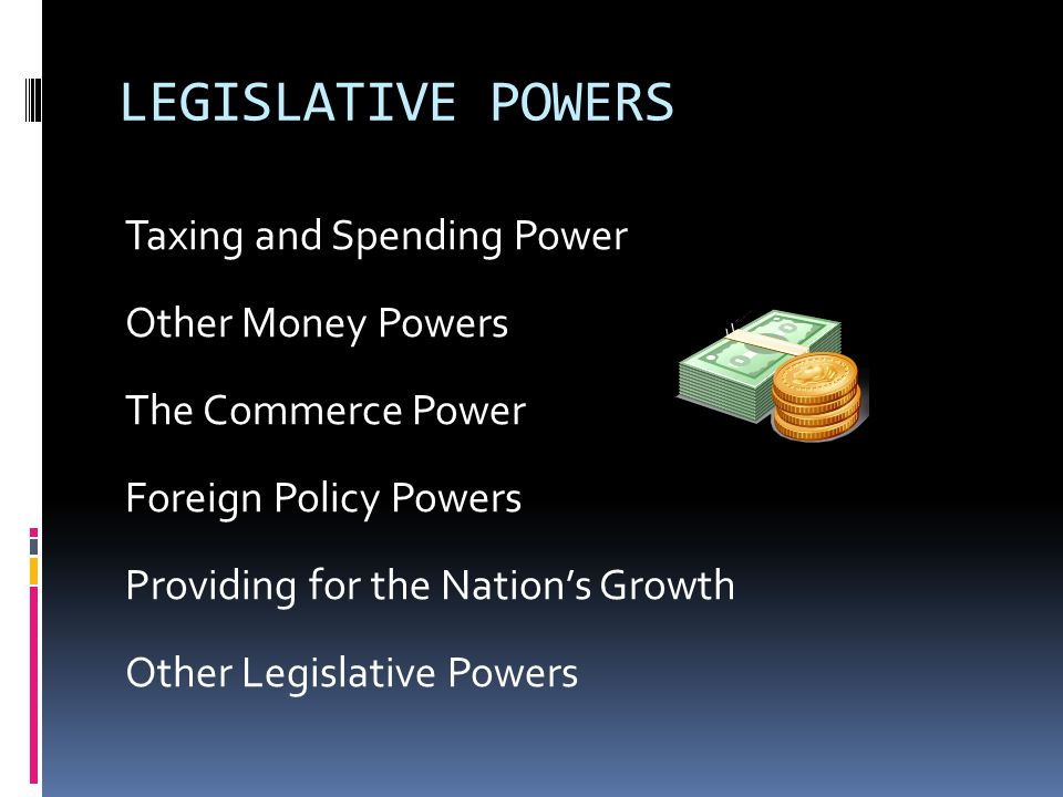 NON-LEGISLATIVE POWERS The Power to Choose a President The Removal Power The Confirmation Power The Ratification Power The Amendment Power