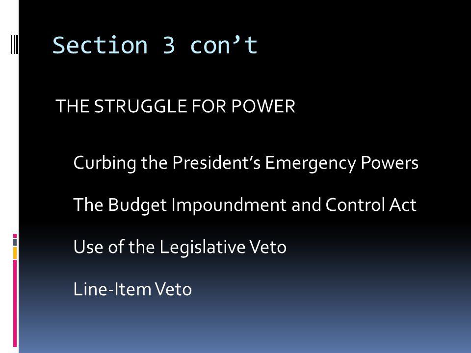 Common theme throughout… POWER….