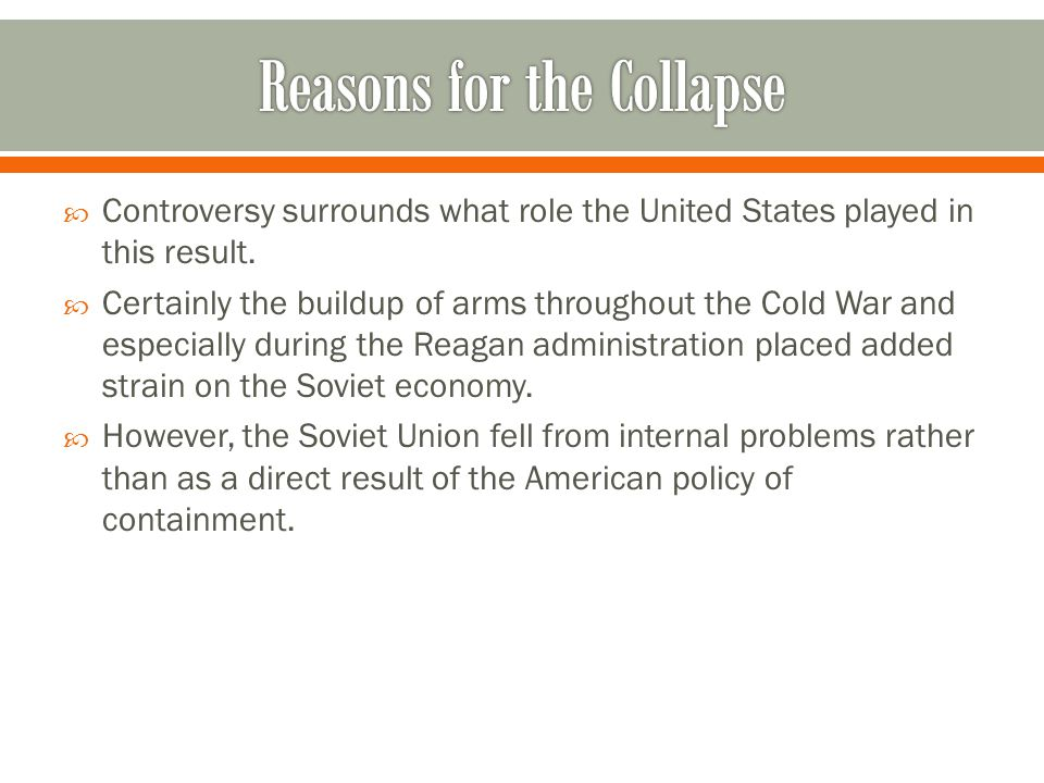  At the end of World War II, the United States assisted European nations in their recovery from the war in order to serve as a strong bulwark against the spread of communism.