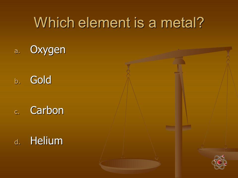 Chocolate milk is a. A chemical b. A compound c. A mixture d. A reaction
