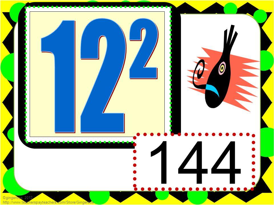 144 ©gingerose, 2012 http://www.teacherspayteachers.com/Store/Gingerose