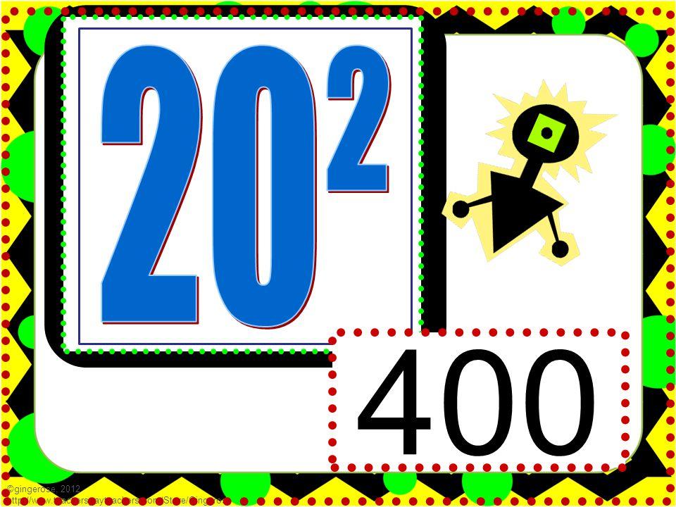 400 ©gingerose, 2012 http://www.teacherspayteachers.com/Store/Gingerose
