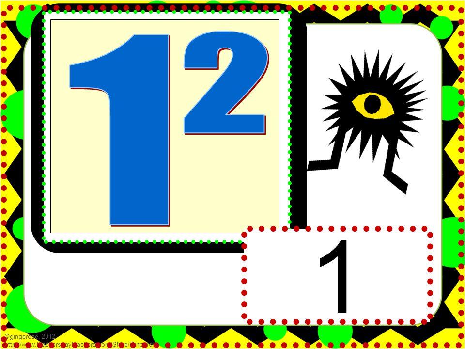 1 ©gingerose, 2012 http://www.teacherspayteachers.com/Store/Gingerose