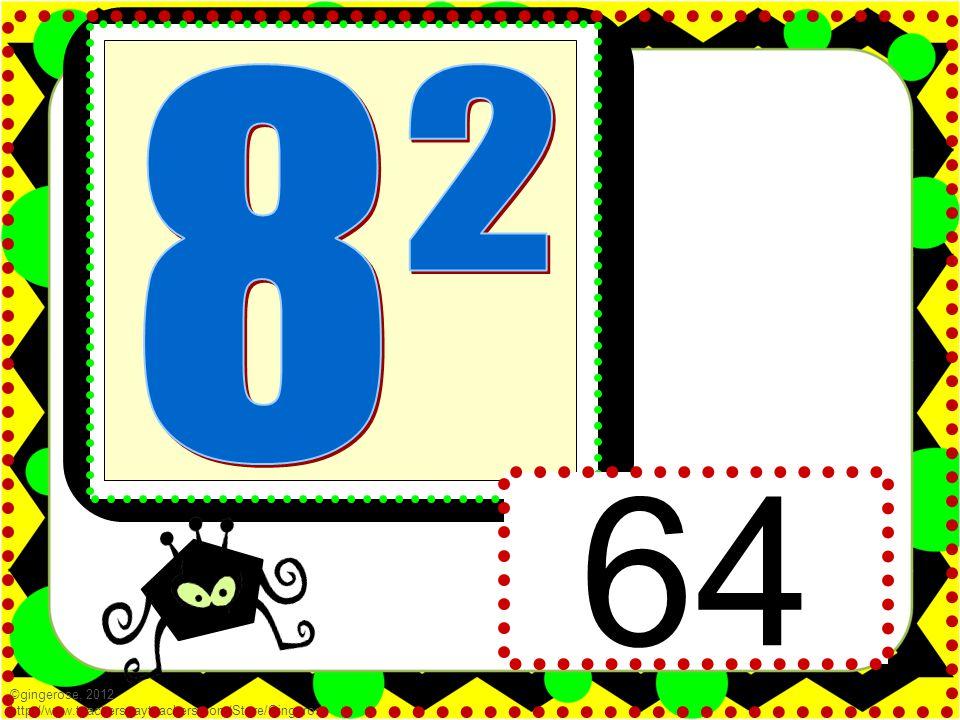 64 ©gingerose, 2012 http://www.teacherspayteachers.com/Store/Gingerose