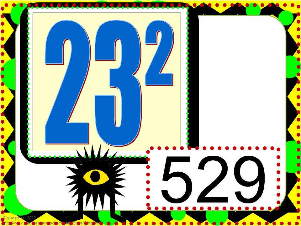 529 ©gingerose, 2012 http://www.teacherspayteachers.com/Store/Gingerose
