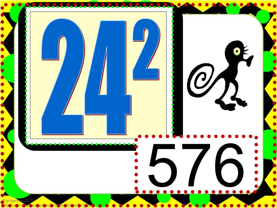 576 ©gingerose, 2012 http://www.teacherspayteachers.com/Store/Gingerose