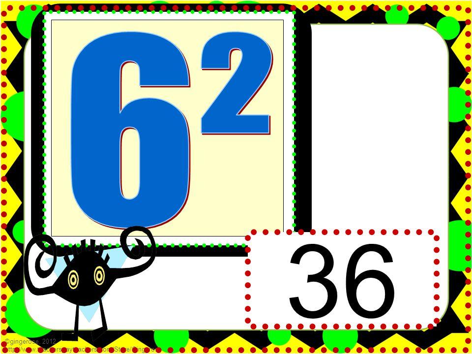 36 ©gingerose, 2012 http://www.teacherspayteachers.com/Store/Gingerose